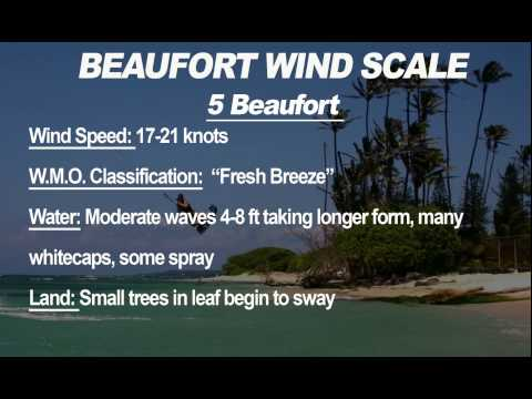 Kiteboarding Lessons - The Beaufort Scale