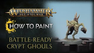 How to Paint: Battle-ready Crypt Ghouls