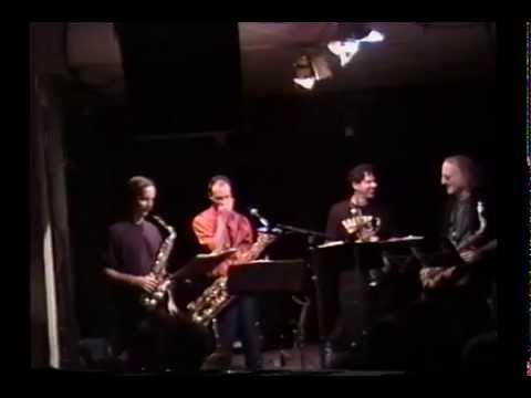 Rova Saxophone Quartet , Knitting Factory -New York 1992
