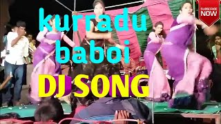 KURRADU BABOI remix dj song dance at village latest mid night dances