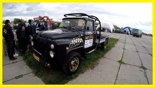 Cool Rally Cars and Trucks. Most Powerful Rally Trucks. Nice Cars Show - Old Car Land 2018