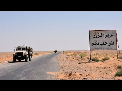 Syria: Army breaks Islamic State group siege on Deir al-Zor