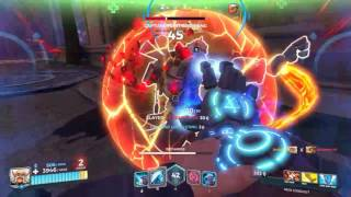 Torvald Gameplay Paladins (livestream test - late mic mostly off)