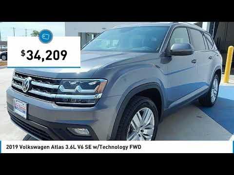 2019 Volkswagen Atlas Edmond Ok, Oklahoma City OK, Norman OK KC581698