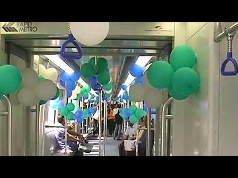 Gurgaon Rapid Metro PH-II Begins Operation