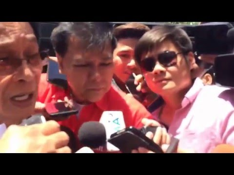 Duterte's lawyer talks about what happened inside BPI   May 2, 2016