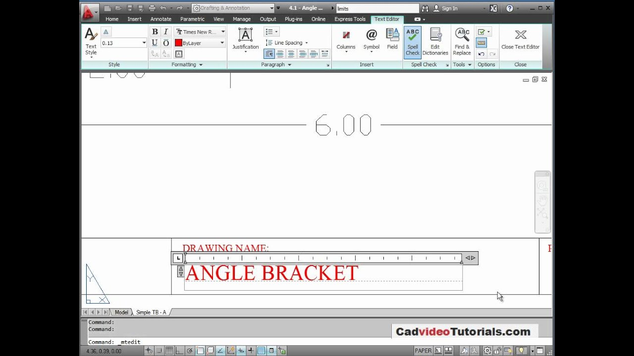 Autocad 2012 tutorial 47 setup layout in paper space youtube autocad 2012 tutorial 47 setup layout in paper space baditri Images