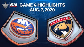 NHL Highlights | Islanders vs. Panthers, Game 4 - Aug. 07, 2020