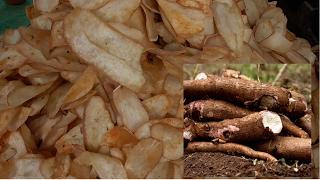 STREET FOOD | SPECIAL CASSAVA CHIPS | MARA GENASU CHIPS