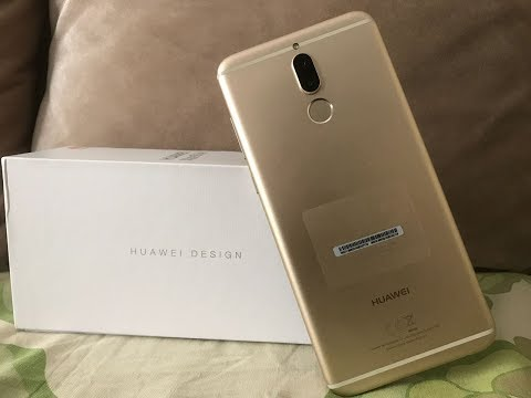 "Huawei Mate 10 Lite Unboxing - The World's First ""FOUR CAMERAS"" Phone"