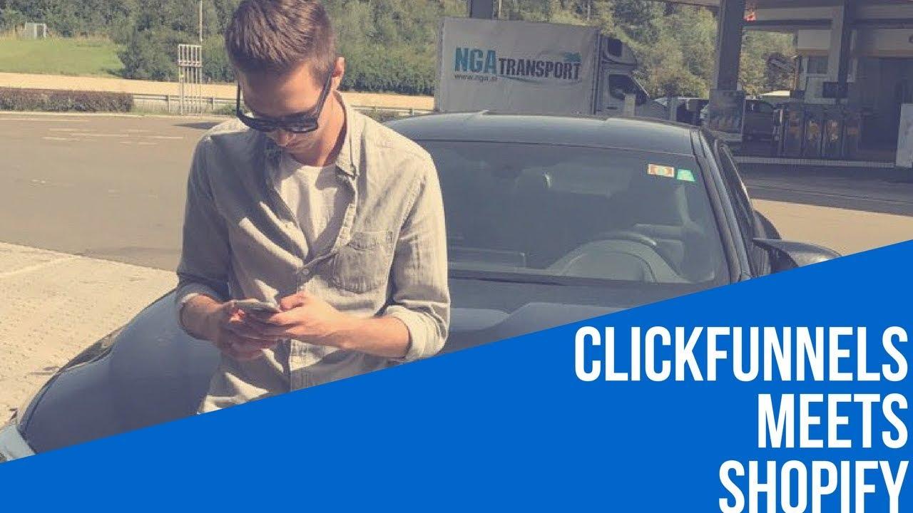 Clickfunnels Tutorial Deutsch | CF & Shopify