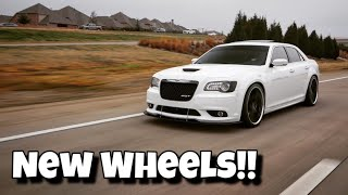 New Wheels for the 300 SRT8 | Cars and Catina | Blaque Diamond BD23 Staggered | Vlog