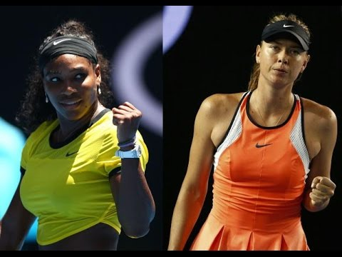 Serena Williams VS Maria Sharapova 2016 AO QF(Full)