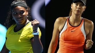 Serena Williams VS Maria Sharapova 2016 AO QFFull