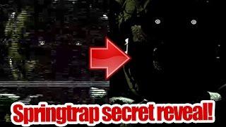 Spring trap secret reveal! It