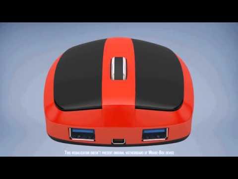 Беспроводной компьютер, внутри обычной мышки