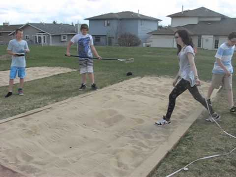 Measuring Triple Jump