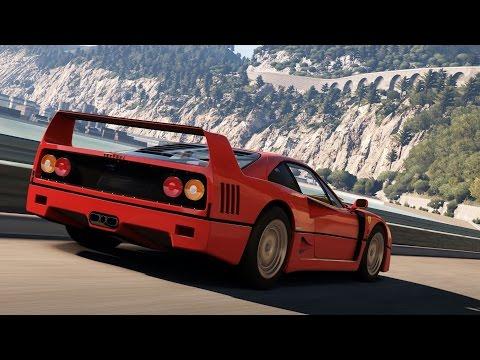 Forza Horizon 2 -  Tour de la carte en Ferrari F40