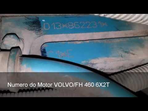Numero do Motor Volvo FH 460