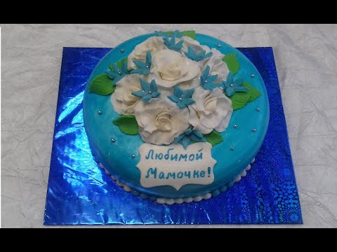 amazing-floral-cake-design/-how-to-make-sugar-flowers/-easy-flower-cake-decorating-ideas