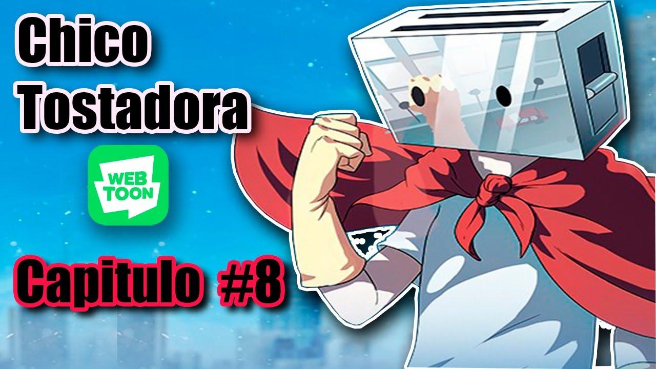 Chico Tostadora #8 (con voces)/ Webtoon