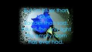Bluer than blue (Lyrics)