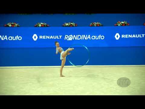 WILKIE Tara (AUS) - 2017 Rhythmic Worlds, Pesaro (ITA) - Qualifications Hoop