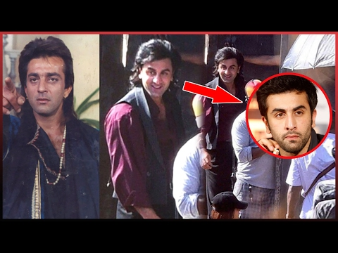 Thumbnail: Ranbir Kapoor First Leaked Pictures From The Sets Of Sanjay Dutt's Biopic