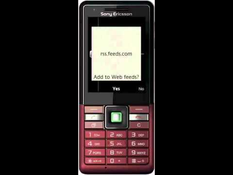 Sony Ericsson Naite-web feeds.wmv