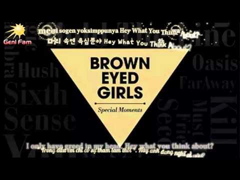 [Engsub - Vietsub - Kara] Hush - Brown Eyed Girls (브라운아이드걸스)