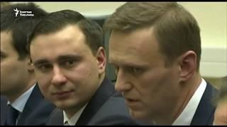 Алексей Навальный подал документы в ЦИК