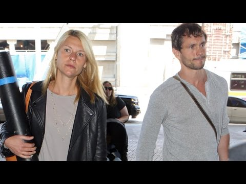 Claire Danes And Hubby Hugh Dancy Take Care To Shield Little Son Through LAX