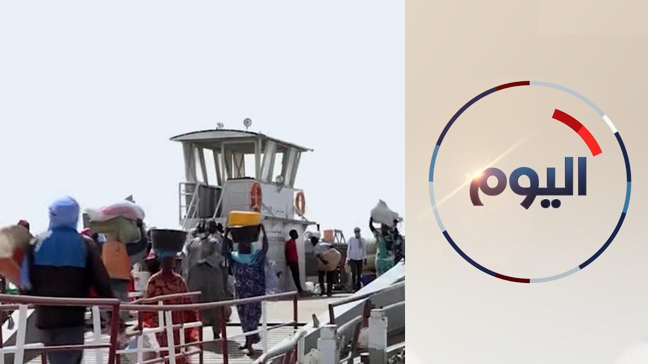 معبر -روصو- شريان اقتصادي مهم بين موريتانيا والسنغال  - 14:58-2021 / 4 / 20