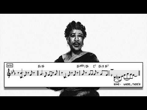 Ella Fitzgerald - How High The Moon Transcription