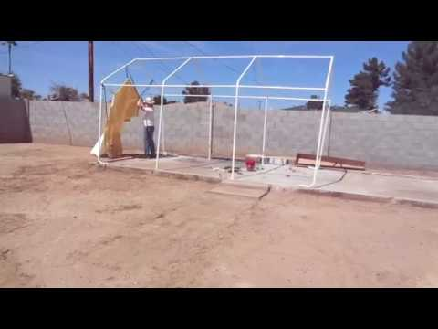 Installing Coverpro 10' X 17' Portable Garage DIY Episode ...