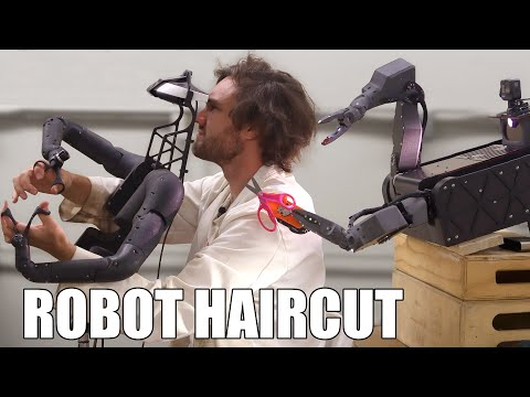Cutting My Hair With a Robot