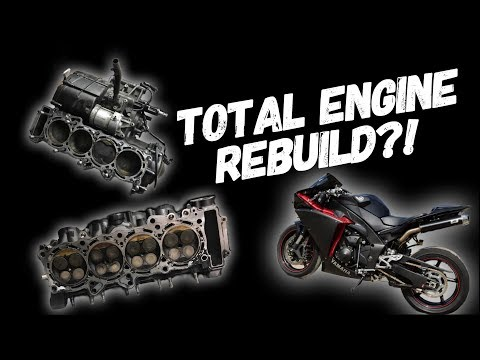 09 R1 90k Miles Engine Rebuild