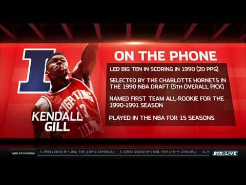 Kendall Gill Talks Illini Hoops