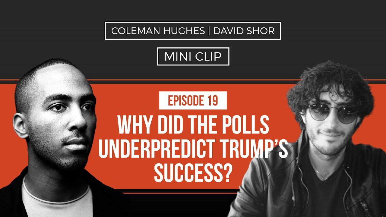 Why did the polls under-predict Trump's success? I David Shor [TEASER]