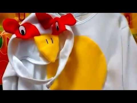 Disfraz de gallo para beb youtube - Como hacer un disfraz de bebe ...