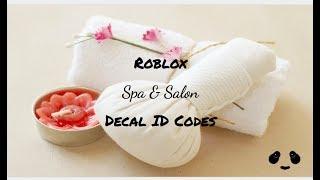 Spa & Salon ID Codes: ROBLOX   Welcome to Bloxburg