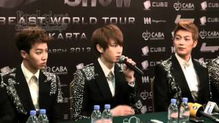 B2ST Sukses Gelar Konser Di Jakarta