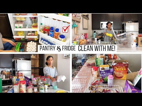 PANTRY & FRIDGE DEEP CLEAN AND ORGANIZATION // CLEANING MOTIVATION // Jessica Tull cleaning