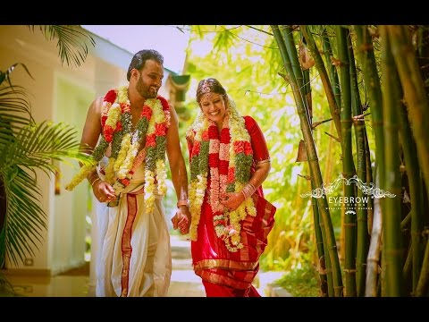 Kerala Brahmin Wedding of Chinnu & Renjith | Wedding Film by Eyebrow Weddings