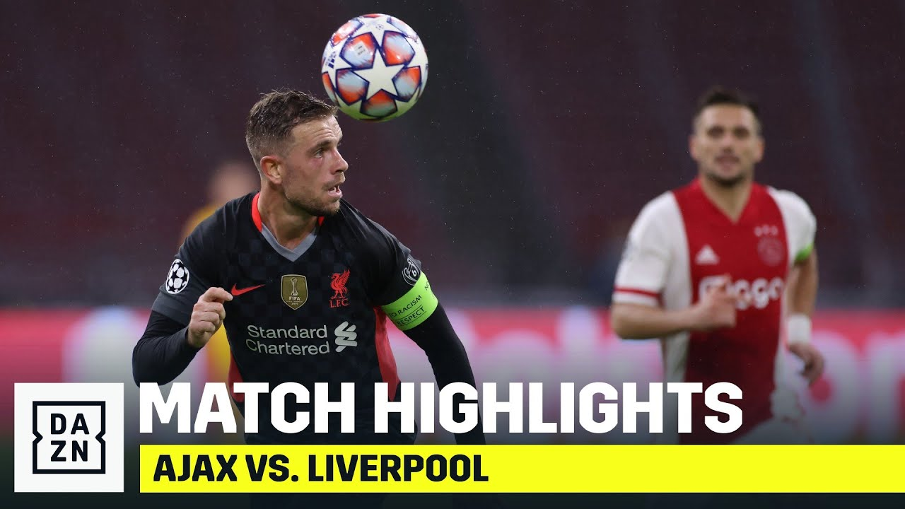 HIGHLIGHTS   Ajax vs. Liverpool (Champions League 2020-2021)