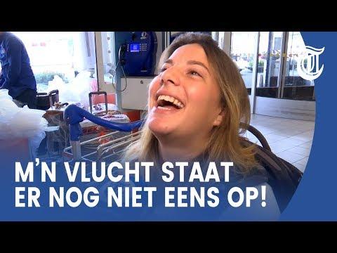 Zo overleven reizigers drukste dag Schiphol