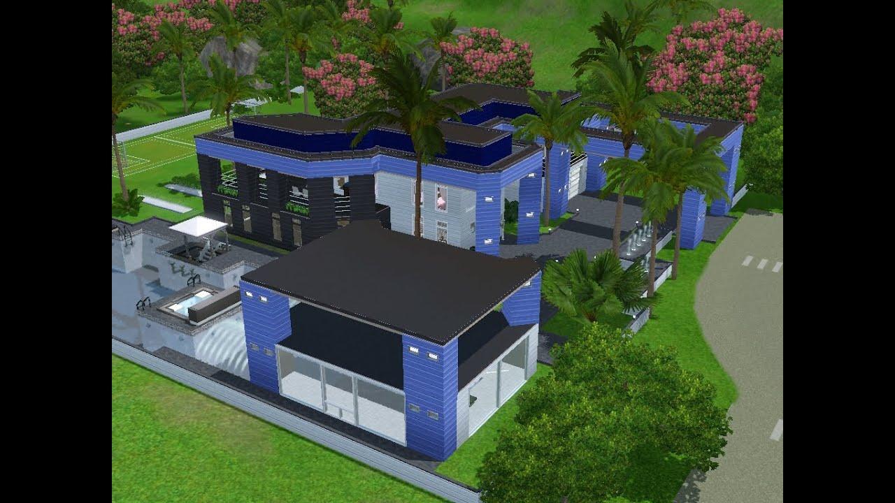 Sims 3 haus bauen let 39 s build modernes haus unter for Modernes haus sims