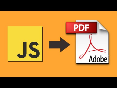 jsPDF Tutorial - Part 2: Exporting HTML to PDF file - YouTube