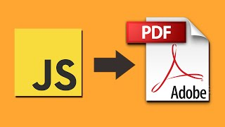 jsPDF Tutorial - Part 2: Exporting HTML to PDF file