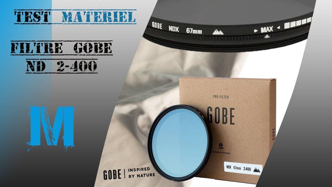 Test Filtre Gobe Nd2 400 Youtube Filter Nd Slim Adjustable Fader Variable 2 To Nd400 67mm 67 Mm Fotga
